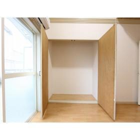 マリカ2 204号室の収納