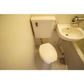 メゾン・ド・フィエール 208号室のトイレ
