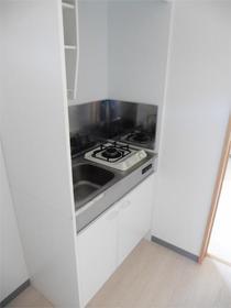 セゾン東林間 201号室のキッチン