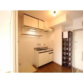 アローハイツ大和 405号室のキッチン