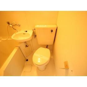 アローハイツ大和 405号室のトイレ
