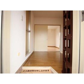 アローハイツ大和 405号室の玄関