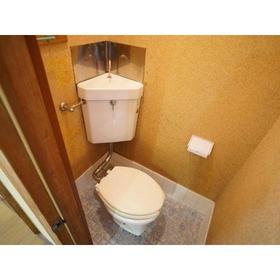 藤歓荘 8号室のトイレ