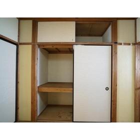 藤歓荘 8号室の収納