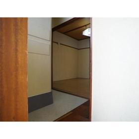 藤歓荘 8号室の玄関