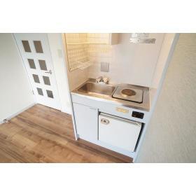 アムザック相模 302号室のキッチン