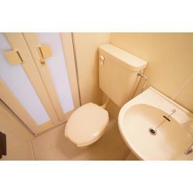アムザック相模 302号室のトイレ