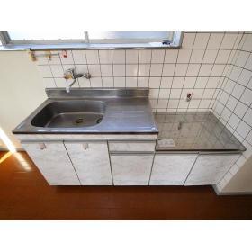 NKハイツ 201号室のキッチン