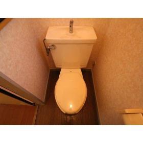 NKハイツ 201号室のトイレ