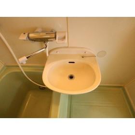 NKハイツ 201号室の洗面所