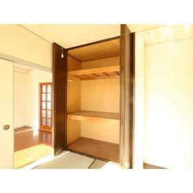 NKハイツ 201号室の収納