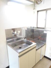 サンスフラット B号室のキッチン