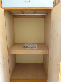サンスフラット B号室の収納