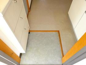 サンスフラット B号室の玄関