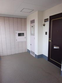 ハイムスワン 206号室の玄関