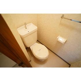 サンライズ南林間 202号室のトイレ