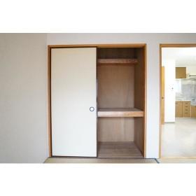 サンライズ南林間 202号室の収納