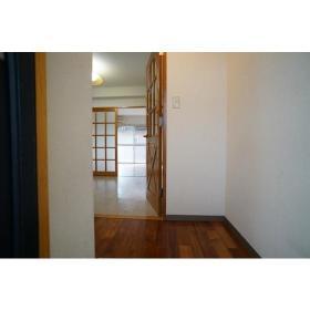 サンライズ南林間 202号室の玄関