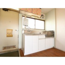 ことぶきコーポ 205号室のキッチン
