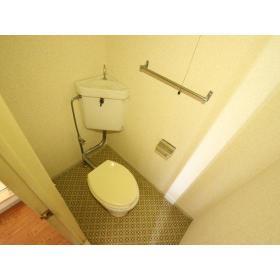 ことぶきコーポ 205号室のトイレ