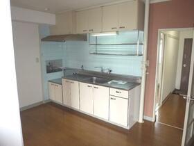 広瀬マンション 304号室のキッチン