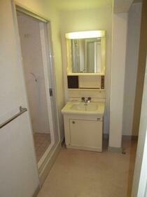 広瀬マンション 304号室の洗面所