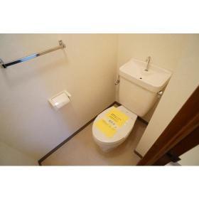 サンライズ南林間 303号室のトイレ