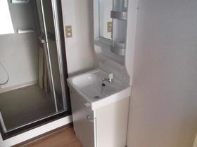 コーポみのりB棟 101号室の洗面所