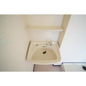 ヴィラ1 201号室の洗面所