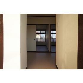 ヴィラ1 201号室の玄関