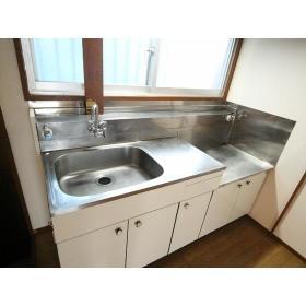 コーポ柏木Ⅰ 102号室のキッチン