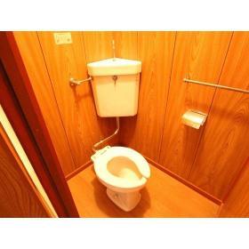 コーポ柏木Ⅰ 102号室のトイレ