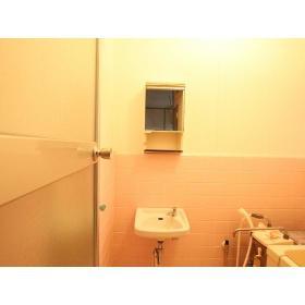 コーポ柏木Ⅰ 102号室の洗面所