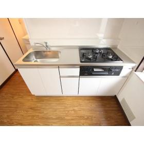 コーポさざんかⅡ 203号室のキッチン
