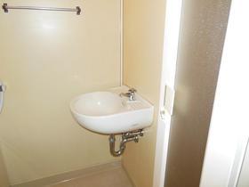 ホワイトハイツ 106号室の洗面所