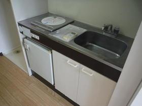 セザール第2鶴間 204号室のキッチン