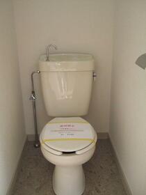 サニーハイツ 206号室のトイレ