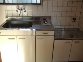 サニーハイツ 206号室のキッチン