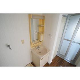ハイムステップ1 504号室の洗面所
