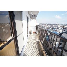 ハイムステップ1 504号室の眺望