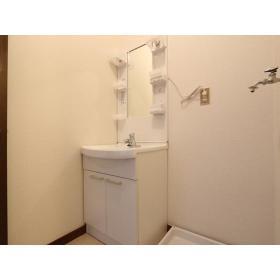 グリーンコーポ第2 105号室の洗面所