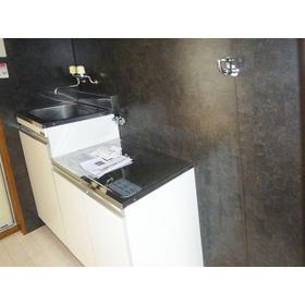 サンパレス21 202号室のキッチン