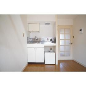 ノース ドゥ ファルコン 206号室のキッチン