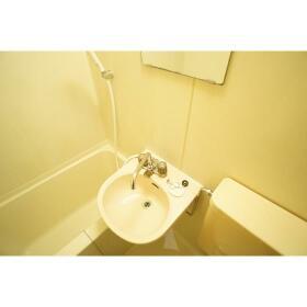 レオパレス南林間第3 205号室の洗面所