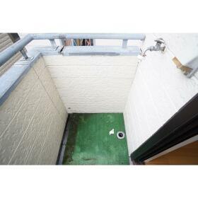 レオパレス南林間第3 205号室のバルコニー