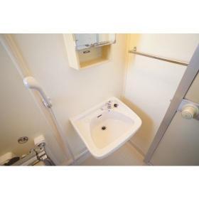 Kハウス 101号室の洗面所