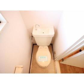 サンハイツ須永 302号室のトイレ