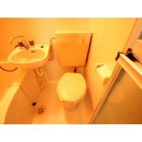 クレール志村 102号室のトイレ