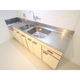 リバーサイド桜ヶ丘 202号室のキッチン