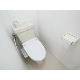 リバーサイド桜ヶ丘 202号室のトイレ